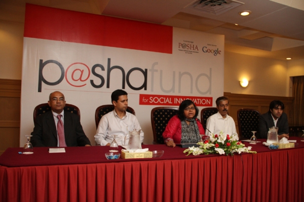 In 2011 Google granted $250,000 for the P@SHA Fund for promotion of social innovation in Pakistan