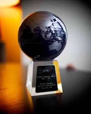 GEM Global Educator Award