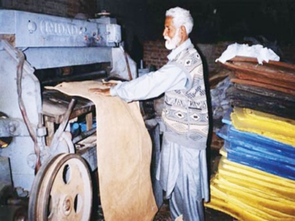 Royal Leather Industries based in Lahore was decorated with first position in a highly commended award