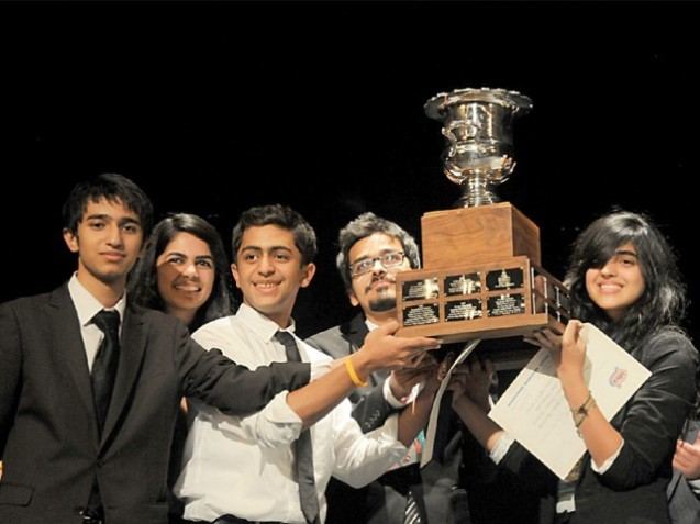 Team Pakistan sweeps debating competition in Mexico
