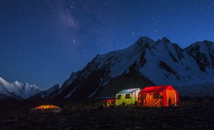 Porters' tent on K2 Expedition